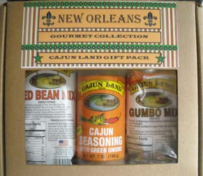 New Orleans Gourmet Cajunland Gift Pack