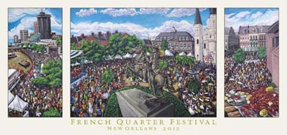 French Quarter Fest 2012 - tribute to Coco Robicheaux
