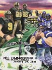 NFC Championship Print by Mike Pizella - Saints-Vikings